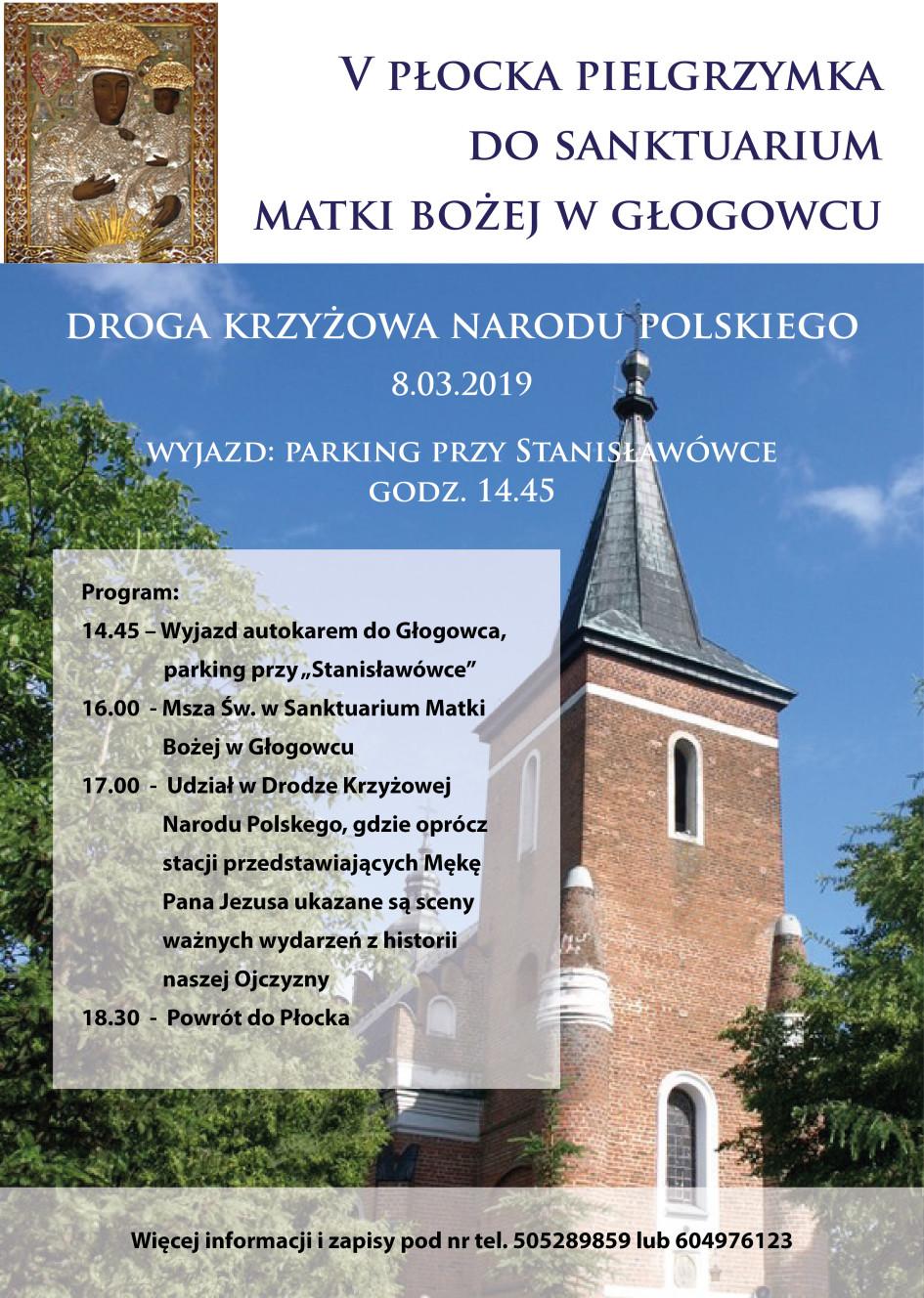 Pielgrzymka do Głogowca 2019-01