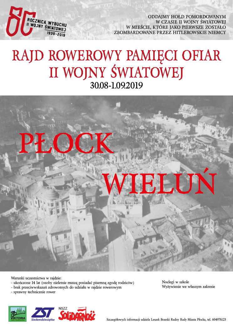 Plakat Rajd Wieluń-01