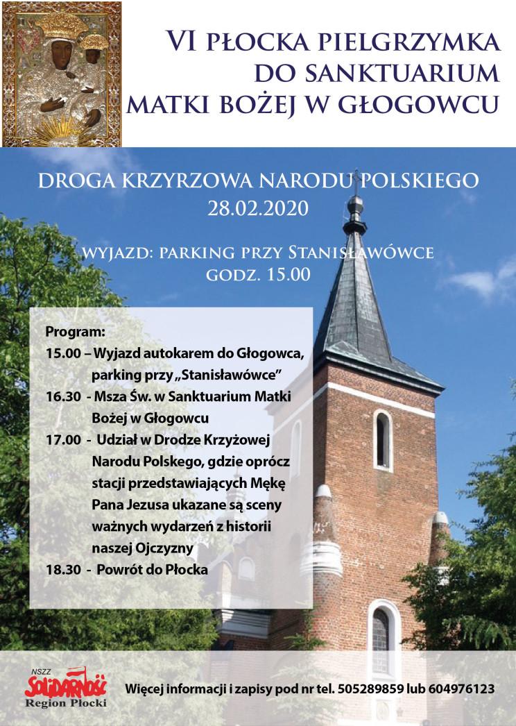 Pielgrzymka do Głogowca 2020-01-01